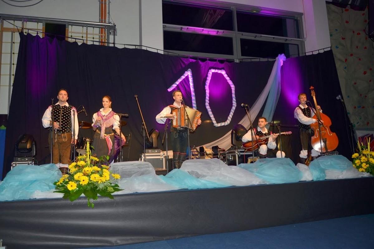 Koncert ob 10 letnici Ansambla Jurčki